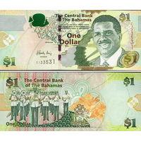 Багамские острова ( Багамы ) 1  доллар 2015  год  UNC