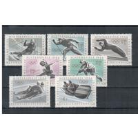 Австрия 1963 г. Mi#1136-1142** чистая полная серия (MNH) Спорт Олимпиада (Р18