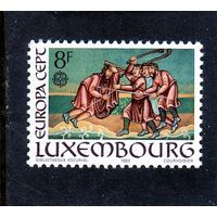 Люксембург. Ми-1074.Европа СЕРТ. Искусство.Миниатюры. Библейские мотивы.1983