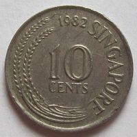 10 центов 1982 Сингапур