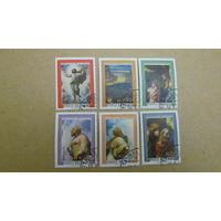 Ватикан 1976 г. Картины Рафаэля