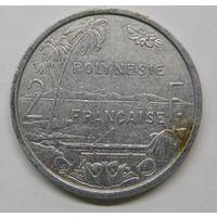 Французская Полинезия 2 франка 1997 г
