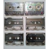 Аудиокассеты (студийные)