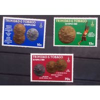 Тринидад и тобаго олимпиада 1980 . 3 марки