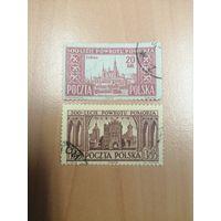 1954 500-летие восстановления Померании (Польша) 2 марки