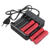 Зарядное устройство 18650 Li-ion Smart Charger HD-077B на 4 АКБ!