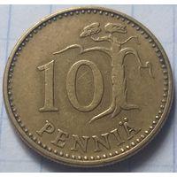 Финляндия 10 пенни, 1964         ( 6-8-3 )