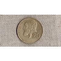 Кипр 20 центов 1994 //(КР)
