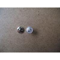 Пуговица с Погоней. 15 мм, пластик