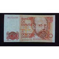 200 песет 1980 года. Испания. Распродажа