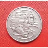 72-30 Австралия, 20 центов 1980 г.