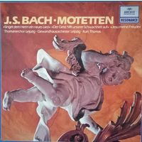 J. S. BACH /Motetten/1959,Germany, LP, Ex.