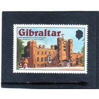 Гибралтар. Mi:GI 374.Королевские резиденции - Сент-Джеймсский дворец Серия: 25 лет коронации королевы Елизаветы II. 1978.