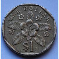 Сингапур, 1 доллар 1995 г.