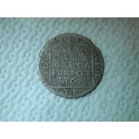 1 грош 1767 г.Серебро