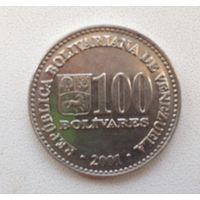 100 боливаров 2001 Венесуэла