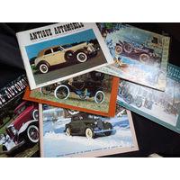 Коллекция журналов Америка 1990 года выпуска, ретро-автомобили, классические автомобили