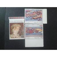 Мексика 1979-81 2марки живопись Сикейроса + фреска 13 век