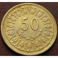 3674:  50 миллимов 1983 Тунис