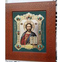 Икона (деревянная рамка, кедр)