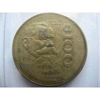 Мексика 100 песо 1990 г.