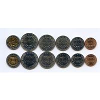 Боливия НАБОР 6 монет 2010-2012 UNC