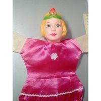 Кукла Принцесса 2 ГДР, театральная, на руку