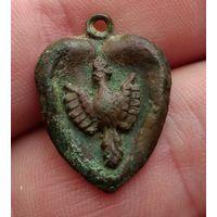 Медальон с орлом ПМВ,патриотика