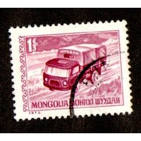 Марка Монголия-Автомобиль-1973