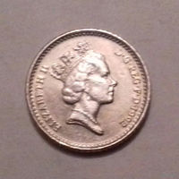 5 пенсов, Великобритания 1992 г.
