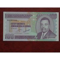 Бурунди 100 франков 2011 год UNC.