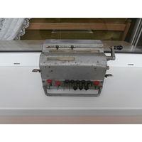 Арифмометр ВК-1 тип ВДР Счетмаш СССР