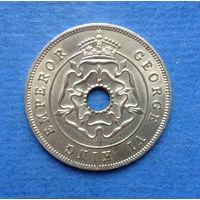 Южная Родезия Британская колония 1 пенни 1942 Состояние
