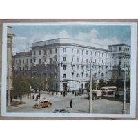 Минск. Центральный книжный магазин. 1954 г. Чистая.