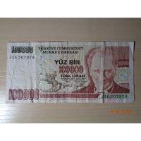 100000 лир