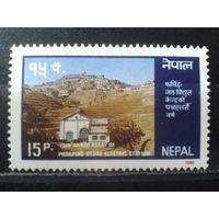 Непал 1986 Горная электростанция**