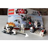 Lego Star Wars 8084 Боевое подразделение штурмовиков-клонов. С инструцкцией.