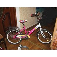 Велосипед принцессе 5-10лет