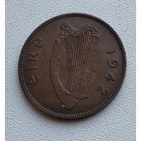 Ирландия 1 пенни, 1942 7-11-3