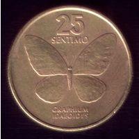 25 сентимо 1984 год Филиппины