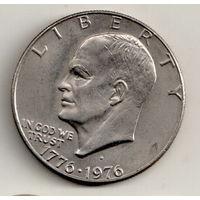 США 1 доллар 1976 200 лет независимости США