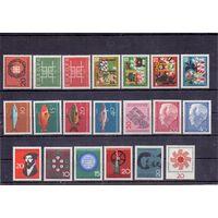 Германия ФРГ 20 марок (**) 1963-1964 гг