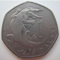 Гамбия 1 даласи 1998 г. (g)