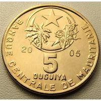 Мавритания. 5 угий 2005 год КМ#3а
