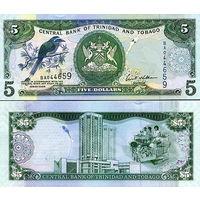 Тринидад и Тобаго  5 долларов  2006 год   UNC