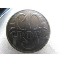 Польша 1 грош 1939 г.