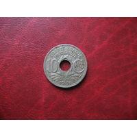 10 сантимов 1936 год Франция