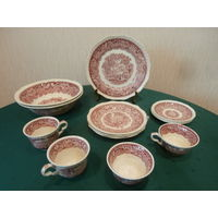 Набор посуды Vista фарфор 15 предметов Mason*S Англия блюдо диаметр 25.5 см.
