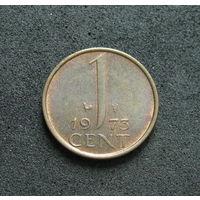 Нидерланды 1 цент 1973