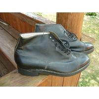 Ботинки хромовые .размер 41